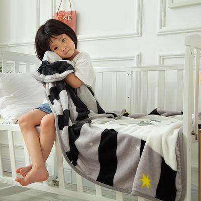 2020新款金貂绒儿童毛毯 1.0*1.4m 音乐熊