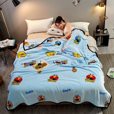 2021新款加厚云貂绒毛毯盖毯 150*200cm 欢乐派对