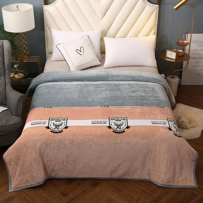 2021新款加厚云貂绒毛毯盖毯 150*200cm 鹿先生