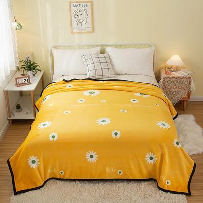2021新款加厚云貂绒毛毯盖毯 150*200cm 暖菊