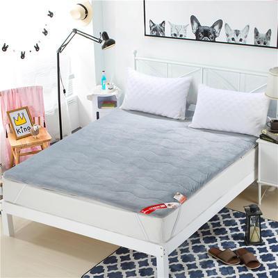 2017垫业床垫水晶绒 90*200cm 0灰色