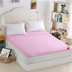 2017垫业床垫 磨毛绗绣 90*200cm 粉色