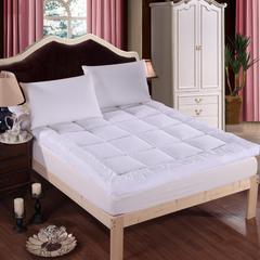 2017垫业床垫 羽绒床垫 90*200cm 羽绒床垫-白