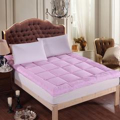 2017垫业床垫 羽绒床垫 90*200cm 羽绒床垫-粉
