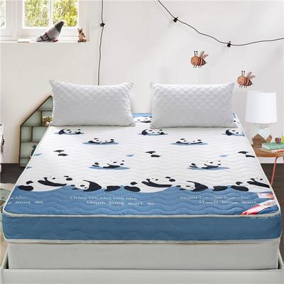 婚庆床垫记忆棉立体6.5cm厚 90*200cm 国宝熊猫