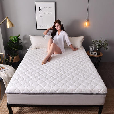 2019新款大床针织床垫-6cm 0.9*2.0m 珍珠白