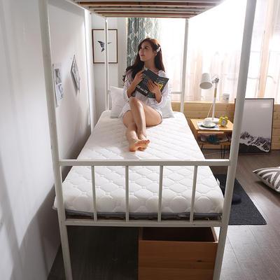 2019新款学生针织床垫终版-6cm 0.9*2.0m 珍珠白
