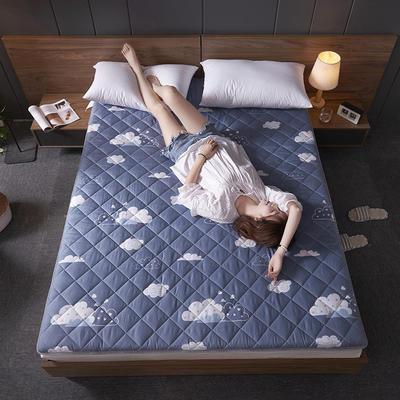 2019新款单边磨毛床垫-大床厚度6cm 90*200cm 云朵