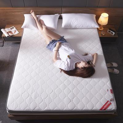 2019新款立体针织床垫-大床厚度10cm 90*200cm 针织白
