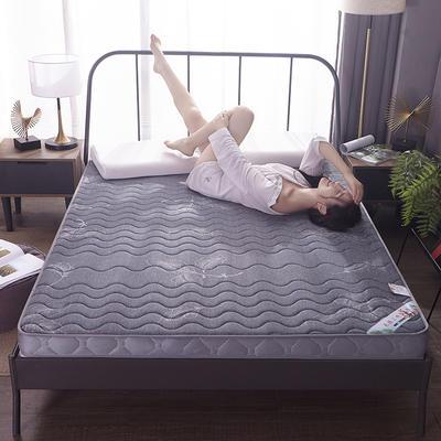 2020新款针织乳胶记忆棉床垫-6cm 180*200cm 叶韵-大床