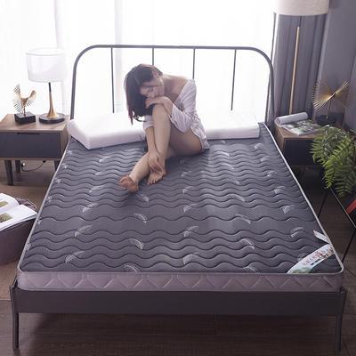 2020新款针织乳胶记忆棉床垫-6cm 180*200cm 羽毛-大床