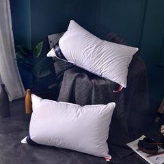 2018新款希尔顿 羽绒枕-48*74cm 白色/一个