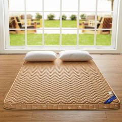 2016记忆棉床垫 0.9*2.0米 驼色(6.5cm)