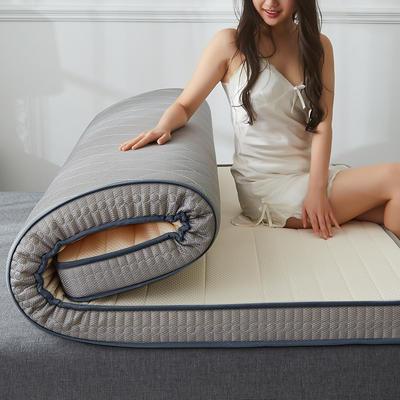 2019新品乳胶记忆海绵床垫(6cm) 90*190 经典灰白