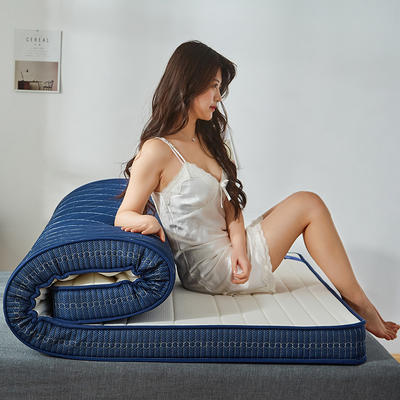 2019新品乳胶记忆海绵床垫(9cm) 90*190 白色