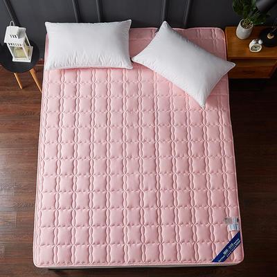 2019新款全棉美国英威达抗菌防螨床垫4色(1.5cm) 90*200 粉色
