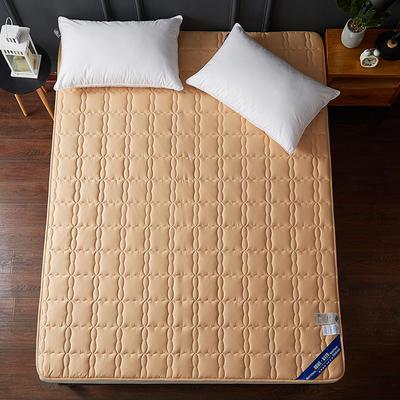 2019新款全棉美国英威达抗菌防螨床垫4色(1.5cm) 90*200 驼色