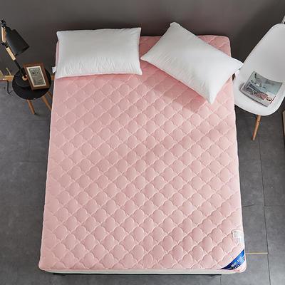 2019新款全棉美国英威达抗菌防螨床垫4色(4cm) 90*200 粉色