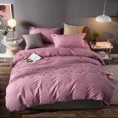 全棉活性生态磨毛四件套 1.5m(5英尺)床 真爱永恒