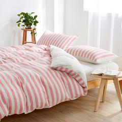 针织棉系列(床单款) 小小号(0.9-1.2米床) 粉色佳人800
