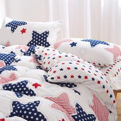针织棉系列(床单款) 小小号(0.9-1.2米床) 星星800