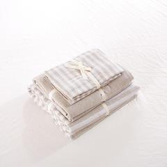 针织棉系列(床笠款) 小小号(1.2米床) 浅咖中条800