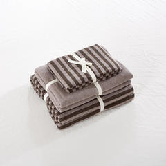 针织棉系列(床笠款) 小小号(1.2米床) 深咖中条800