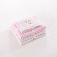 针织棉系列(床笠款) 小小号(1.2米床) 桃红柳绿800