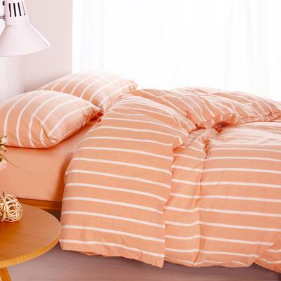 水洗棉单品(床单) 170*250cm 玉条纹