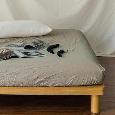 水洗棉单品(床笠) 120*200cm 米色