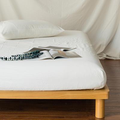 水洗棉单品(床笠) 120*200cm 素白