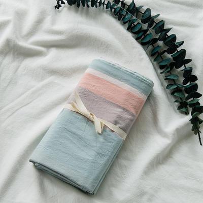 水洗棉基础款新花型单品(枕套) 48cmX74cm/对 清新条纹
