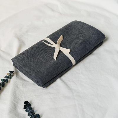 水洗棉基础款新花型单品(枕套) 48cmX74cm/对 深灰