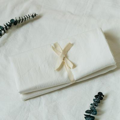 水洗棉基础款新花型单品(枕套) 48cmX74cm/对 深灰+白