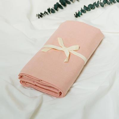 水洗棉基础款新花型单品(枕套) 48cmX74cm/对 深灰+粉