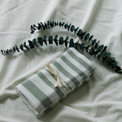 水洗棉基础款新花型单品(枕套) 48cmX74cm/对 维尼之光-绿