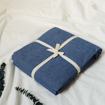 水洗棉基础款新花型单品(被套) 200X230cm 牛仔蓝
