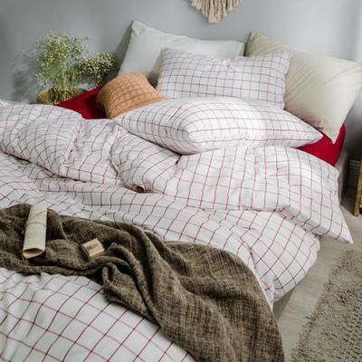 水洗棉基础款经典花型翻拍2 1.5m(5英尺)床 初春格