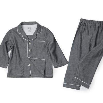 2019新款-家居服儿童 100cm 纯色灰色