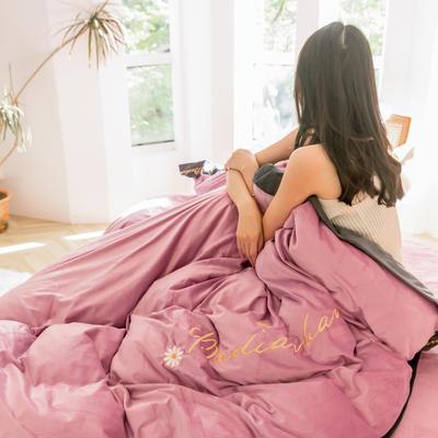 2019冬款 高克重超柔保暖水晶绒刺绣款 1.5m(5英尺)床 香妃玉