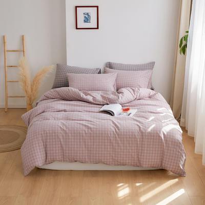 2020春夏新品水洗棉基础款2.0系列 标准床单款 zakka紫