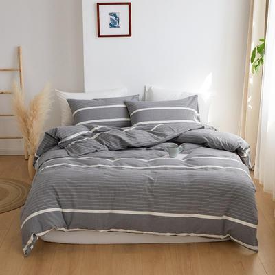 2020春夏新品水洗棉基础款2.0系列 标准床单款 千霜