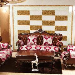 美考-咖沙发垫 35*50靠垫芯(不单售) 红