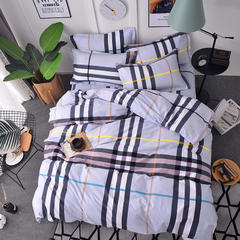 2018纯棉生态磨毛单品单床单 245cm*250cm(单床单款) 蒙特利-灰