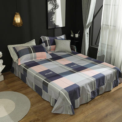2019新款40S全棉活性生态磨毛单品床单款 180cmx230cm 玛格瑞特