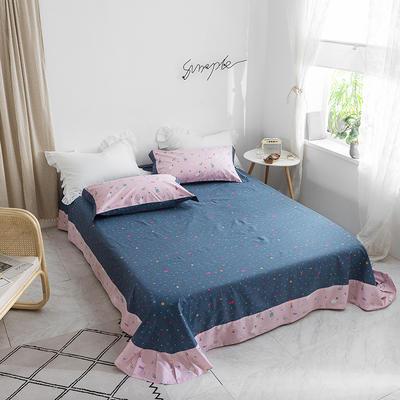 2019新款2019新款轻奢宽边全棉单床单 180cmx230cm 我的世界