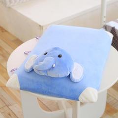 14款乳胶枕(60*40cm) 蓝色小象