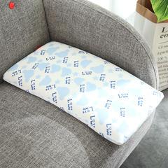 记忆棉卡通大童枕(30*50cm) 蓝色