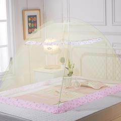 儿童婴儿蚊帐(动物世界140*80*80) 米黄