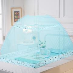 儿童婴儿蚊帐(动物世界140*80*80) 水绿